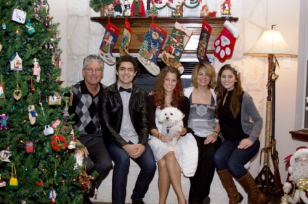 Lisa whelchel husband steve and their three children tucker haven
